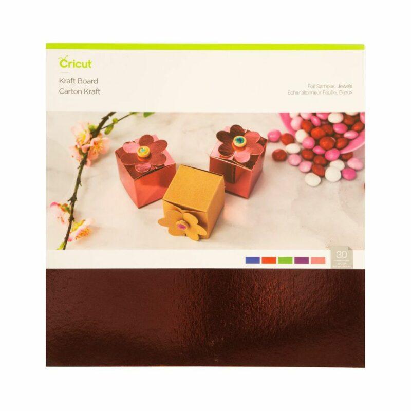 2005491-Kraft Board-Foil Sampler Jewels