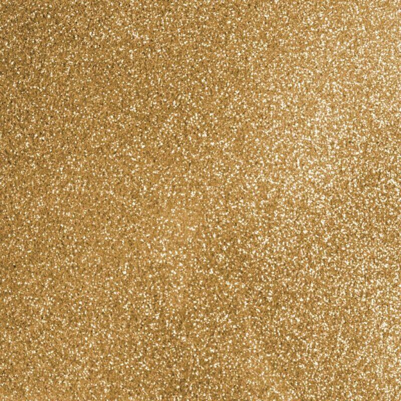Glitter Iron On Gold Swatch