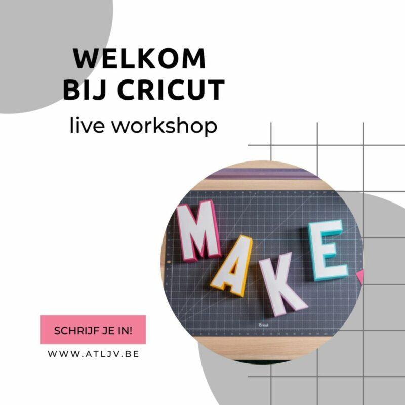 live Welkom bij Cricut