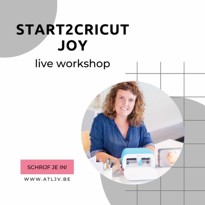 _live start2cricut Joy