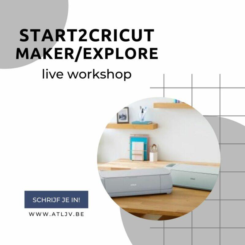 live start2cricut MakerExplore